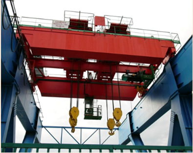 100 ton overhead cranes in our group has high quality.