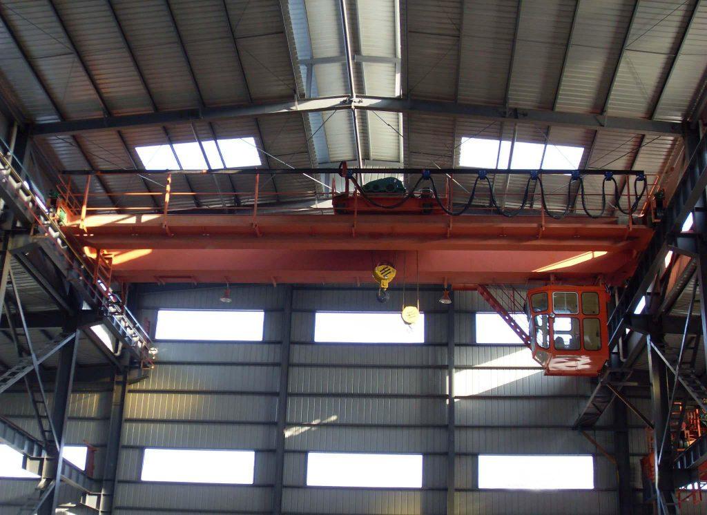 60 ton Overhead Bridge Crane With A Hook